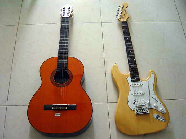 电吉他和古典吉他有什么区别-电吉他和古典吉他的